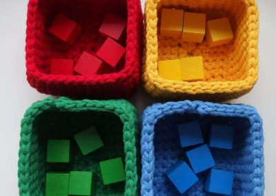 Sorter kolorów handmade