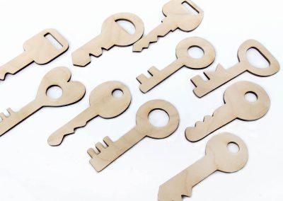Układanka klucze