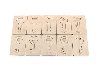 Układanka klucze zestaw