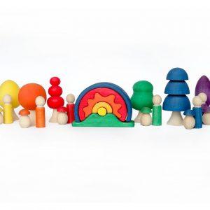 Zestaw kreatywny- zabawki Montessori