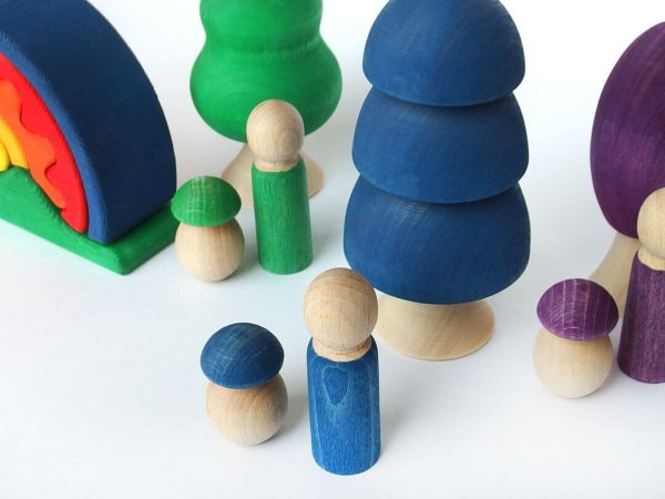 Zestaw kreatywny- kolor niebieski